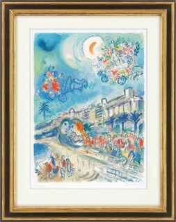 """Bild """"Bataille de Fleurs, aus der Serie: Nice and the Côte d´Azur"""" (1967)"""