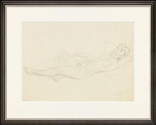 "Bild ""Liegender Akt"" (1921) (Unikat)"