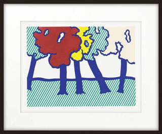"Bild ""Illustration for 'or Automnal: Arriere-Saison en Nouvelle Angleterre'"" (1992)"
