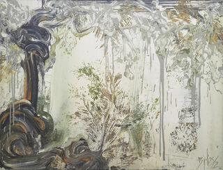 "Bild ""Discover grau"" (2012) (Unikat)"