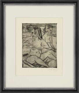 """Bild """"Nach dem Bad"""" (1920)"""