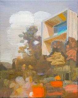 """Bild """"Haus Orange"""" (2020) (Unikat)"""