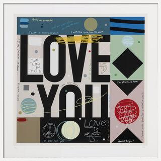 """Bild """"Love: Forever true"""" (2017)"""