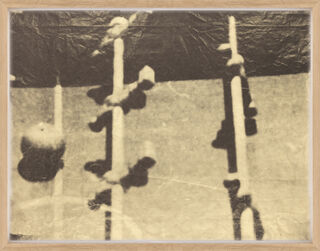 """Bild """"Fernsehbild (Kicker I) gelb"""" (1971)"""
