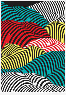 """Bild """"Striped Hills"""" (2017)"""