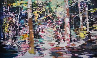 """Bild """"in between the forest"""" (2019) (Unikat)"""