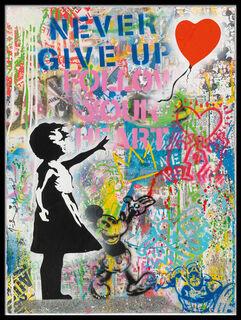 """Bild """"Ballon Girl"""" (2016) (Unikat)"""
