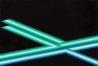 "Bild ""Crossing sign"" (1971) (Unikat)"