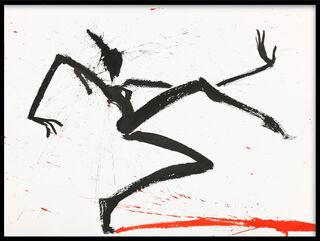 """Bild """"großer Schritt (Z 15 026)"""" (2015) (Unikat)"""