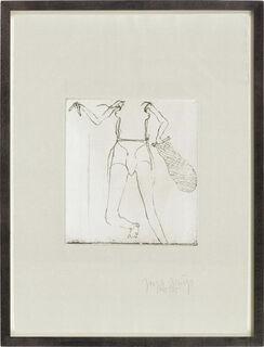 """Bild """"Zirkulationszeit: Taucherin"""" (1985)"""