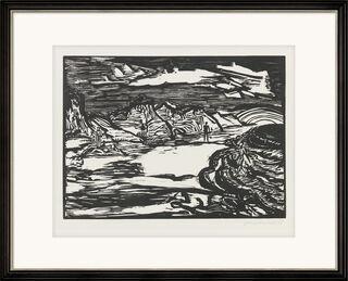 """Bild """"Nordseeküste"""" (1955)"""