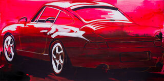 "Bild ""Porsche 911 Turbo"" (2020) (Unikat)"
