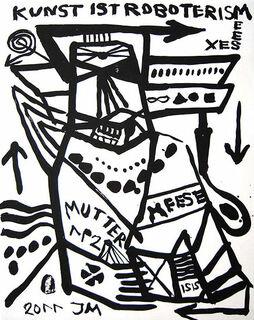 """Bild """"MUTTER DER 1. ORDNYNG: AUSRICHTUNG"""" (2011)"""
