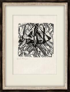"""Bild """"Barke und Brigg"""" (1918)"""