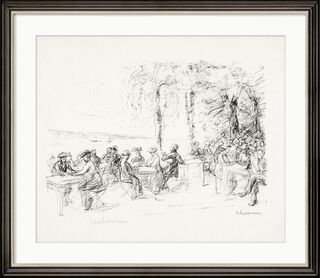 """Bild """"Kaffeegarten an der Havel"""" (1916)"""