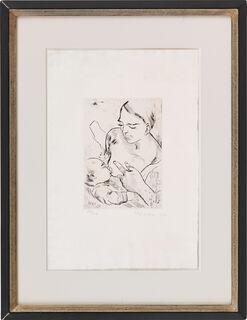 """Bild """"Stillende Mutter"""" (1927)"""