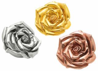 "3 Skulpturen ""Rose"" (2012) im Set"