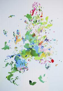 "Bild ""Flowering V 11.17"" (2017) (Unikat)"