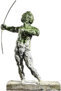 "Skulptur ""Schütze"" (2018), Bronze"
