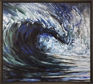 """Bild """"Blue Swell 7"""" (2018) (Unikat)"""