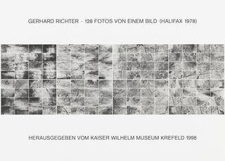 """Mappe """"128 Fotos von einem Bild (Halifax 1978), II"""" (1998)"""
