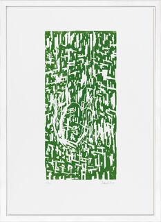 """Bild """"Grün IX"""" (1990)"""
