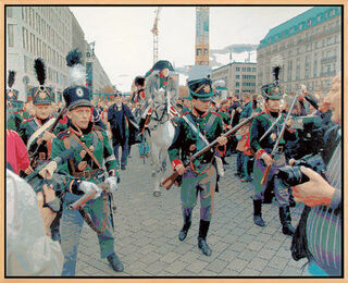 "Bild ""Napoleon in Berlin am 28. Oktober 2006"" (Unikat)"