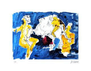 """Bild """"Pegasus mit Nymphen"""" (2020)"""