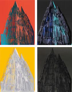 """Bild """"Set: Cologne Cathedral II.361 / II.362 / II.363 / II.364"""" (1985)"""