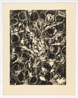 """Bild """"Schwarzes Tuch III"""" (1985/89)"""