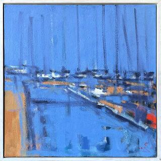 """Bild """"Hafen"""" (2011) (Unikat)"""