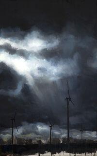 "Bild ""Energiefelder"" (2020) (Unikat)"