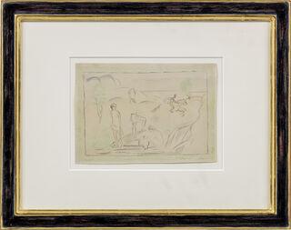 "Bild ""Frauen mit Krügen"" (ca. 1912) (Unikat)"