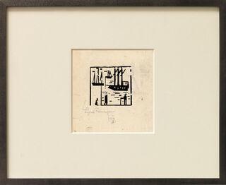 """Bild """"Angler and Ships"""" (1919)"""