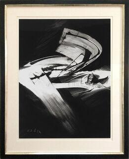 """Bild """"4 Variationen mit einem Schema IV"""" (1971) (Unikat)"""
