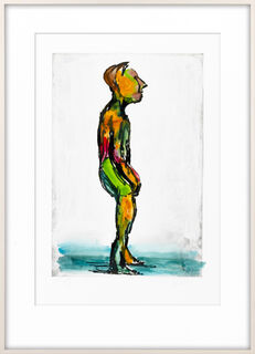 """Bild """"Hiob (grün)"""" (2007) (Unikat)"""
