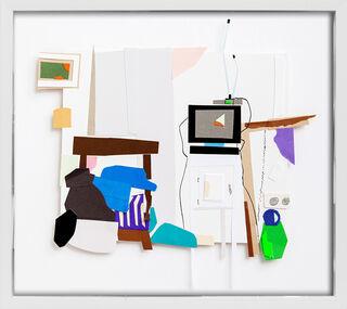 """Bild """"T. Atelier Fernseher"""" (2015) (Unikat)"""