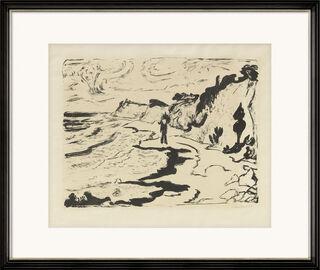 """Bild """"Fördelandschaft"""" (1954)"""