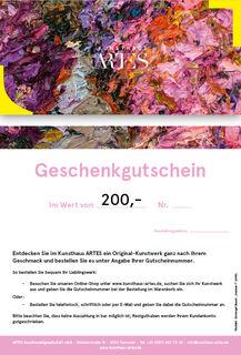 "Geschenkgutschein (Christoph Bouet ""Azaleen I"")"