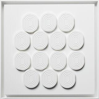 "Bild ""A White Piece"" (2020) (Unikat)"