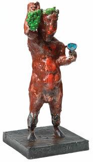 """Skulptur """"Dionysos"""" (2020), Bronze"""