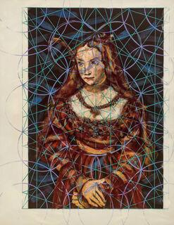 """Bild """"4_20 (Sibylle von Kleve als Braut)"""" (2020) (Unikat)"""