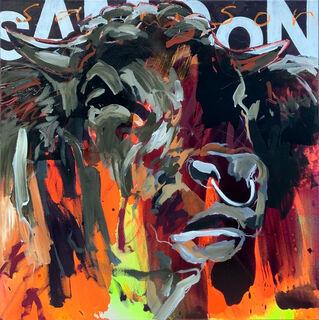 """Bild """"Samson"""" (2020) (Unikat)"""