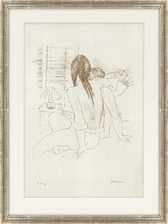 "Bild ""Am Morgen"" (um 1930-32) (Unikat)"