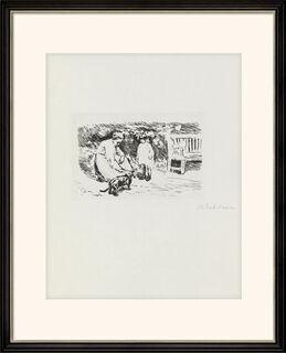"""Bild """"Gartenszene"""" (1921)"""