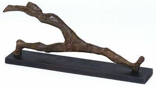 """Skulptur """"Großer Schritt"""" (2014), Bronze"""