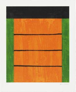 """Bild """"Erker Suite 2000, Blatt 5"""" (2000)"""