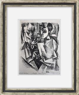 """Bild """"Zwischen Mann und Frau"""" (1917)"""