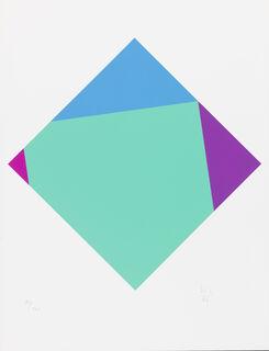"Bild ""Transkoloration V"" (1986)"