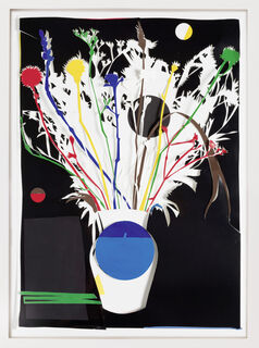 """Bild """"Blumen Weiß"""" (2020) (Unikat)"""